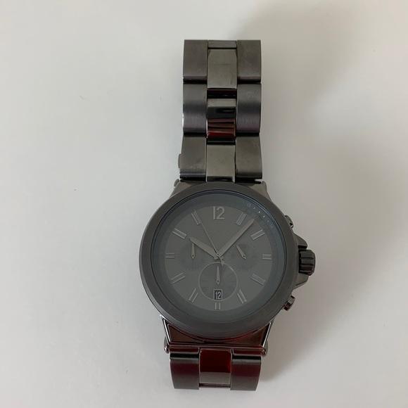 New Michael Kor's Men's Gunmetal Grey Watch